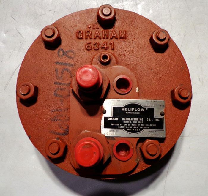 GRAHAM HELIFLOW HEAT EXCHANGER 4X4C-10