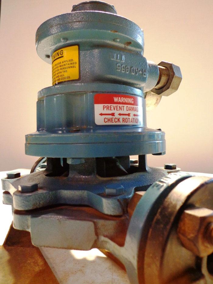 """DEAN PUMP 113721 RA & GAST AIR MOTOR 3/4""""   6AM-NRV-31"""