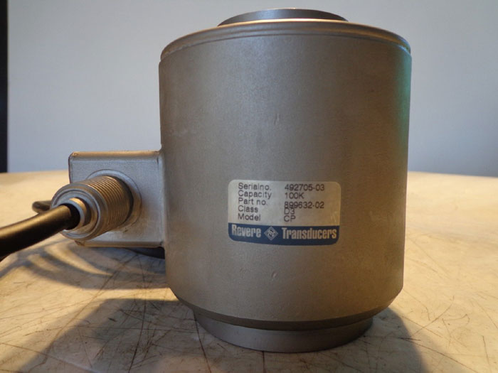 REVERE TRANSDUCERS CP-100K LOAD CELL