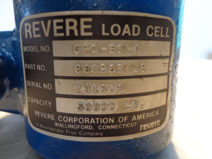 REVERE CORPORATION CP1-50-A LOAD CELL