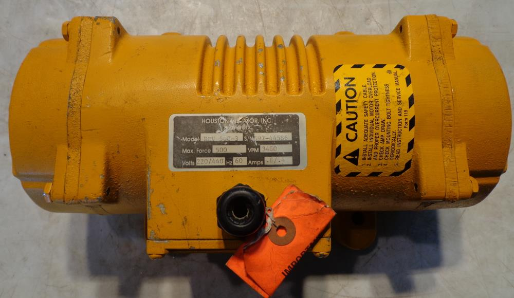 HOUSTON VIBRATOR ROTARY ELECTRIC VIBRATOR   REV-500-3