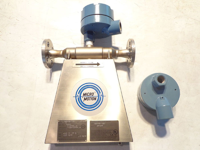 MICRO MOTION MASS FLOW METER DS040S113SU