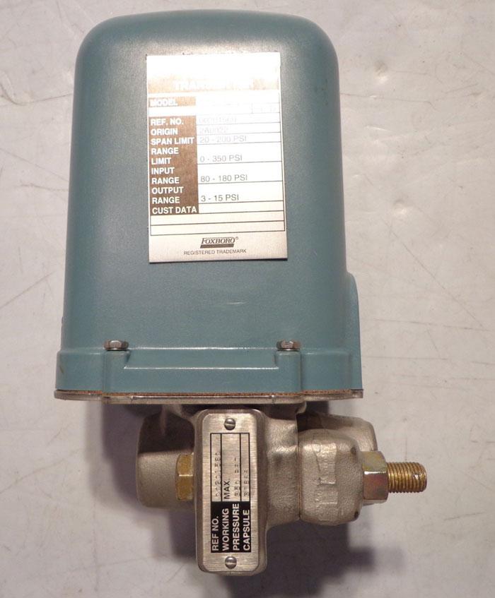 FOXBORO PRESSURE TRANSMITTER 11GM-BS2-R