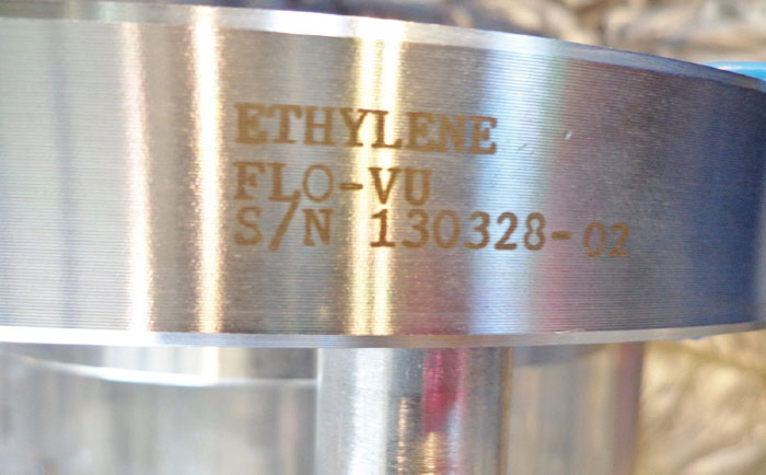 "ETHYLENE 4"" FLO-VU SIGHT GLASS FLO-VU 360M"