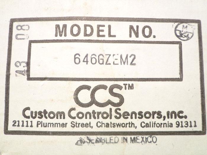 Custom Control Sensor 646gzem2