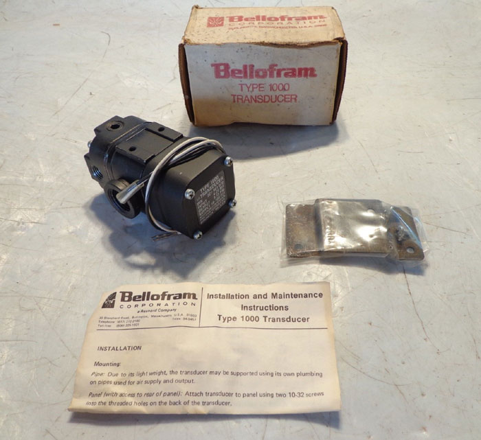 BELLOFRAM TYPE 1000 TRANSDUCER 221-961-070