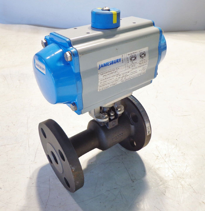 "JAMESBURY 1"" 300# BALL VALVE w/ ACTUATOR"