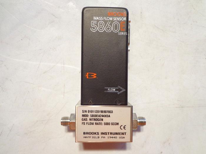 BROOKS INSTRUMENT MASS FLOW METER - 5860E