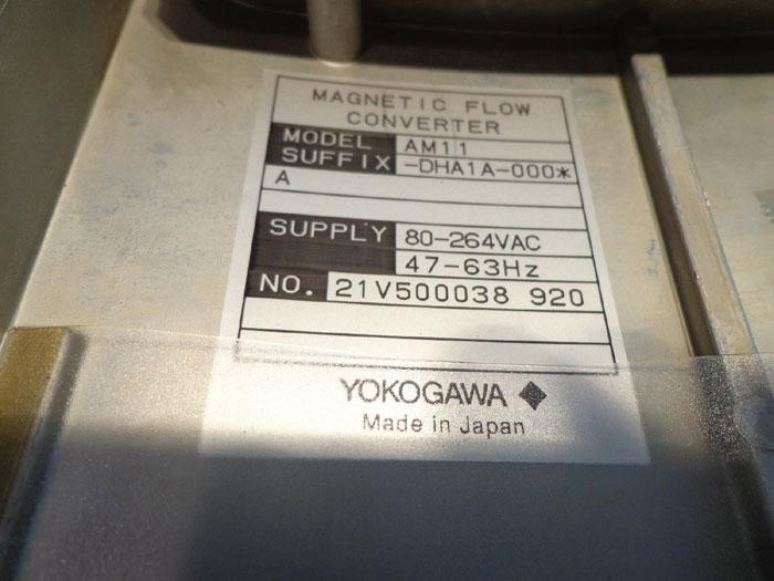 YOKOGAWA ADMAG MAGNETIC FLOW CONVERTER AM11
