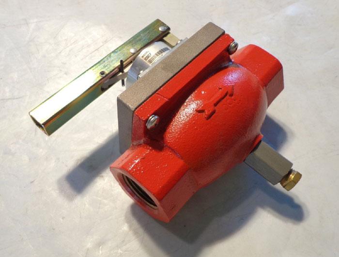 F.W. MURPHY PNEUMATIC FUEL GAS SHUT-OFF VALVE M2582-P