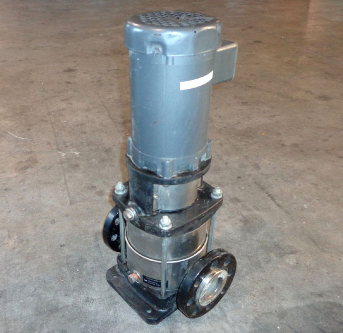 EBARA PUMP - TYPE EVMU  10  2 w/ 1-1/2 HP MOTOR