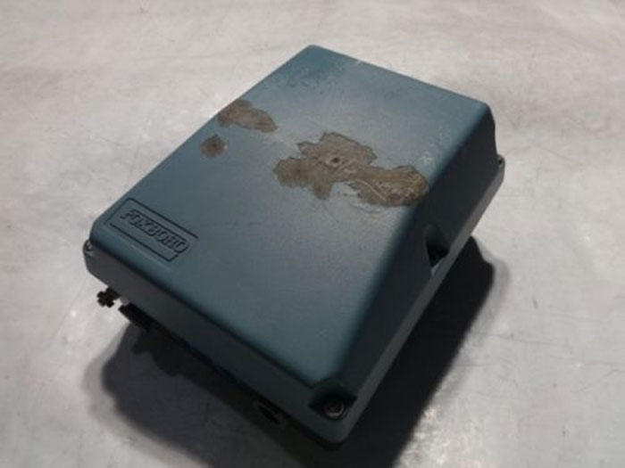 FOXBORO MAGNETIC FLOW TRANSMITTER - MODEL E96S-IA-BE-CS-E/FN-A