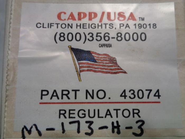 CAPP USA PRESSURE REGULATOR 43074