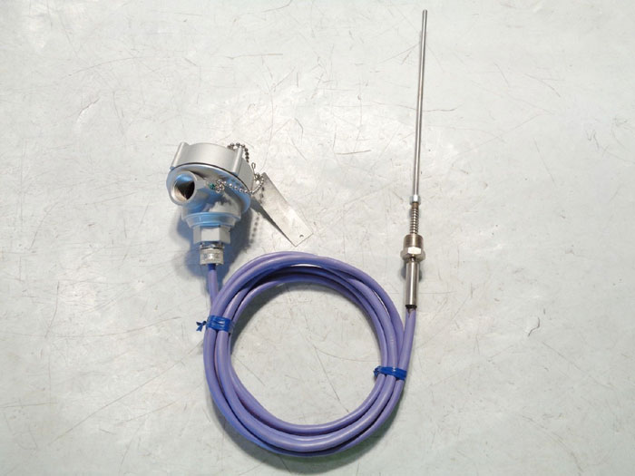 PUSHNA EXPLOSION PROOF THERMOCOUPLE HEAD 1010 PAE w/ SANDELIUS THERMOCOUPLE