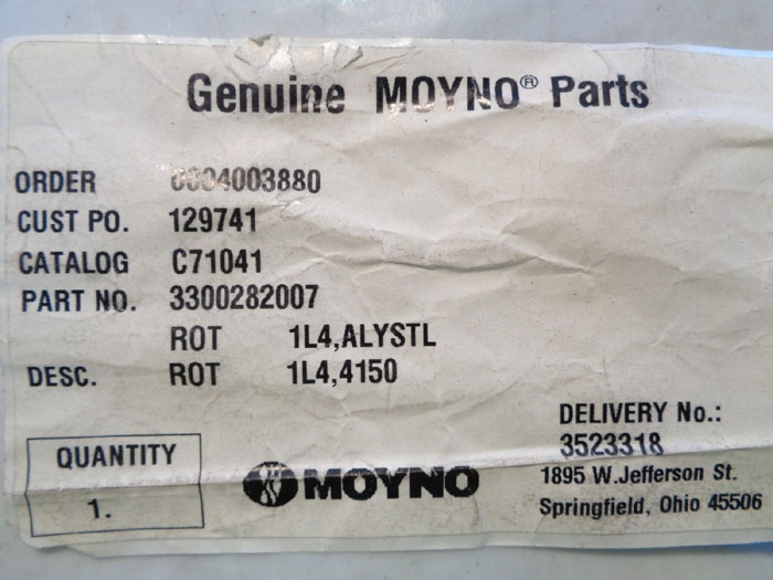 MOYNO ROTOR PART - CAT #c71041