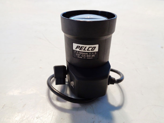 PELCO VARIFOCAL CAMERA LENS DAY/NIGHT - PART# 13VDIR7.5-50