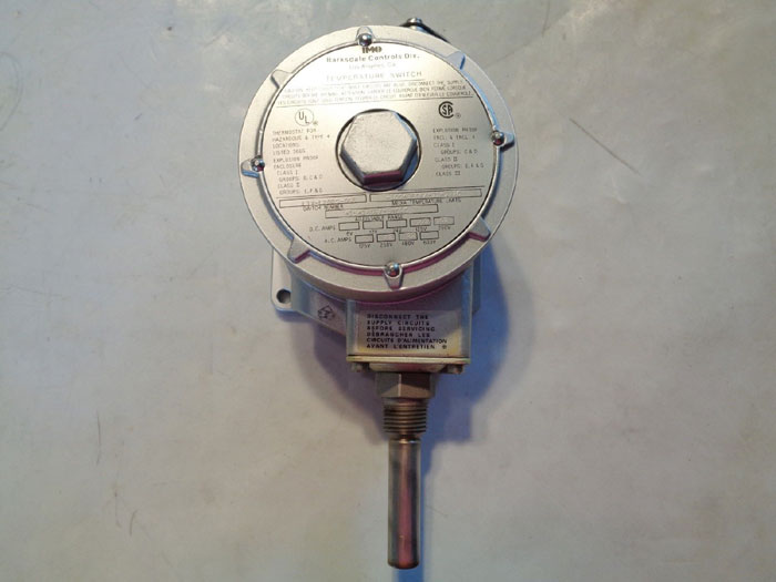 IMO BARKSDALE CONTROLS TEMPERATURE SWITCH L1X-L202S-Q55