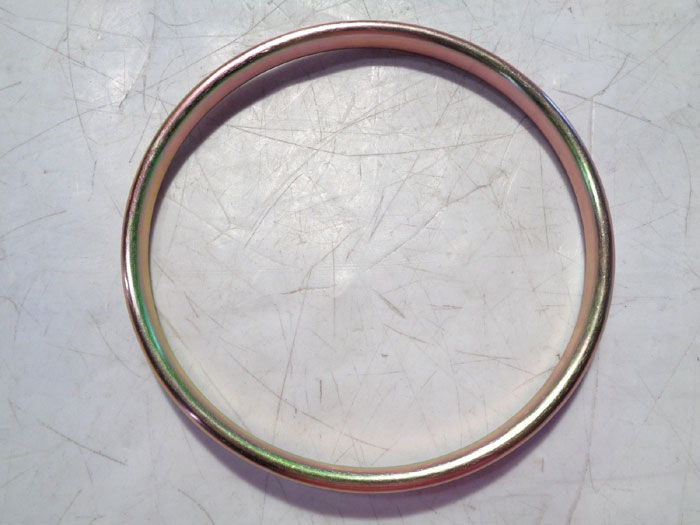 """LOT OF (26) LAMONS RING JOINT GASKETS, SOFT IRON OVAL, 6"""" & 8"""" R48 & R43"""