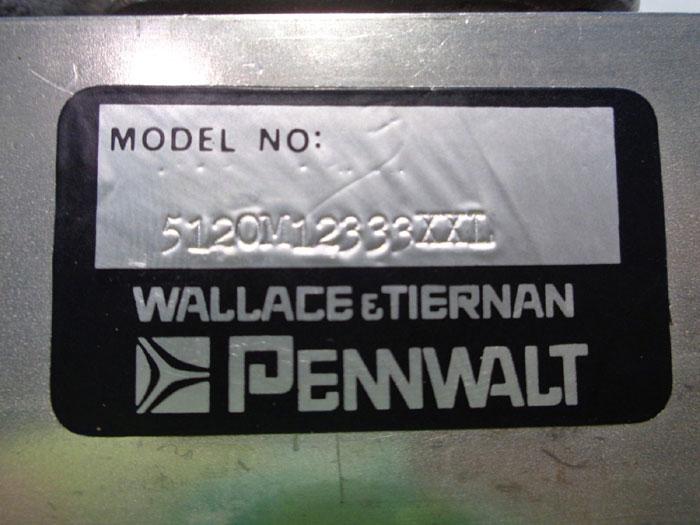 WALLACE & TIERNAN PENNWALT ARMORED PURGE METER #5120M12333XXL
