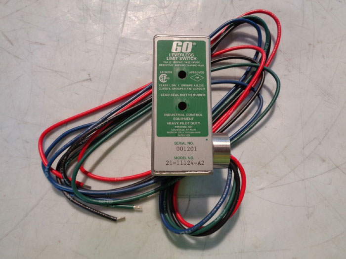 TOPWORX GO LEVERLESS LIMIT SWITCH - MODEL: 21-11124-A2