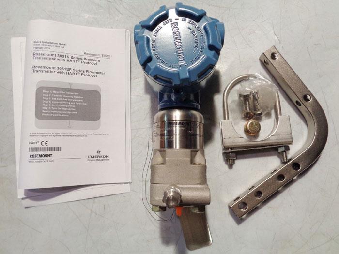 ROSEMOUNT HART SERIES PRESSURE TRANSMITTER 3051S1CG4A2E12A1AB4K5