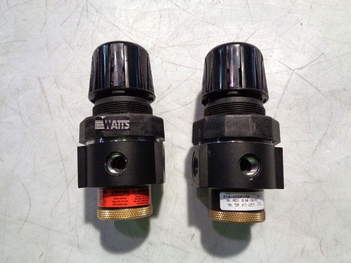 LOT OF (2) WATTS PNEUMATIC REGULATOR, MODEL# R10-02DP/M3