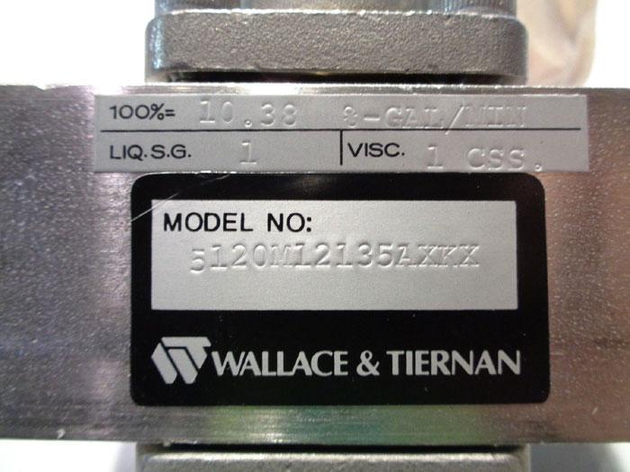 WALLACE & TIERNAN ARMORED PURGE METER, # 5120M12135AXKX & 5120M12335AXL/5600