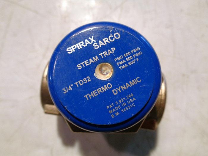 "SPIRAX SARCO 3/4"" COOL BLUE THERMODYNAMIC STEAM TRAP TD52"