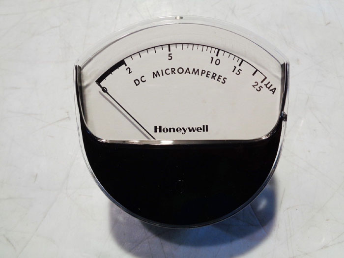 JEWELL HONEYWELL MICRO-AMMETER, PART#: 138166