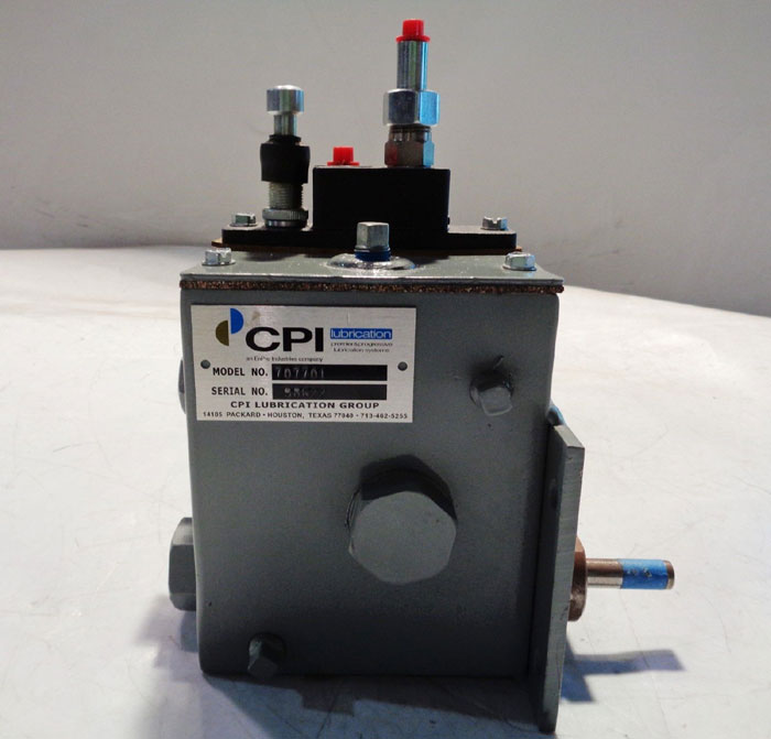 COMPRESSOR PRODUCTS CPI LUBRICATION PUMP #707701