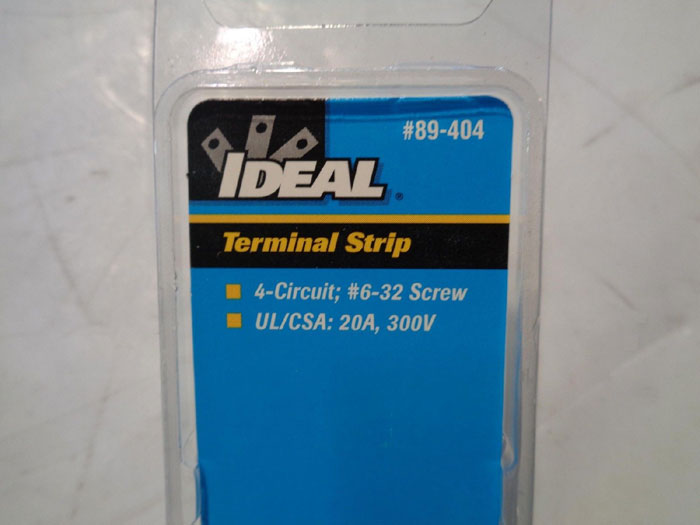 LOT OF (29) IDEAL TERMINAL STRIPS 89-404