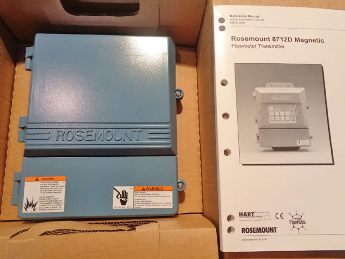 ROSEMOUNT 8712D MAGNETIC FLOWMETER TRANSMITTER 8712DR12N5B6