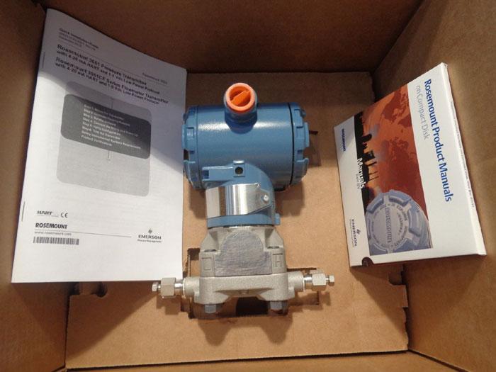 ROSEMOUNT SMART PRESSURE TRANSMITTER 3051CD2A22A1AE5LA