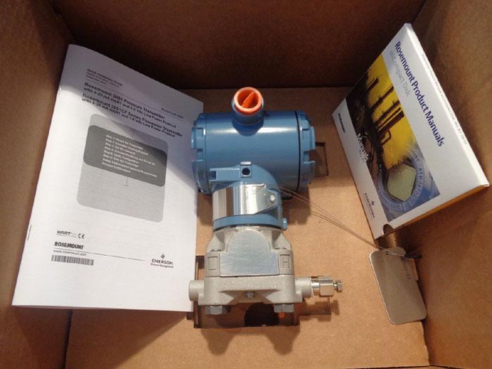 ROSEMOUNT SMART PRESSURE TRANSMITTER 3051CG4A22A1AE5L4
