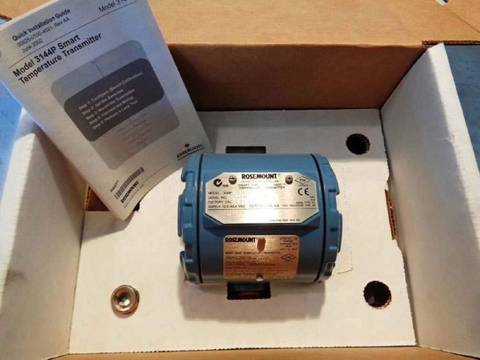 ROSEMOUNT SMART FAMILY TRANSMITTER 3144PD1A1E5