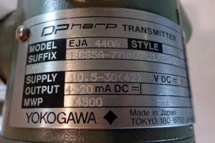 YOKOGAWA DHARP TRANSMITTER - EJA440A