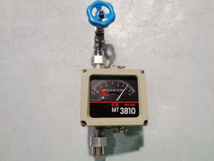 BROOKS 3810 VARIABLE AREA FLOWMETER 3810A11A1RBD1P1