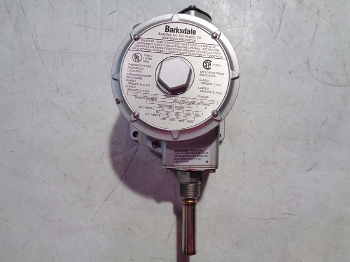 BARKSDALE TEMPERATURE SWITCH L1X-L204S-Q49