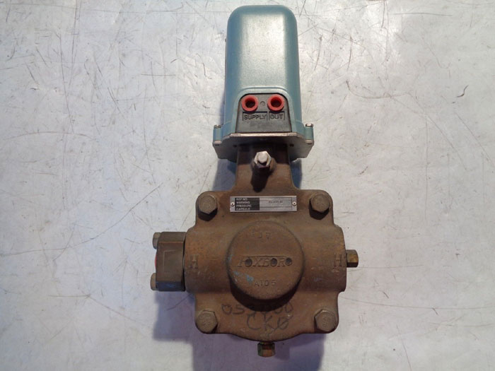 FOXBORO DIFFERENTIAL PRESSURE TRANSMITTER 15A1-LK2