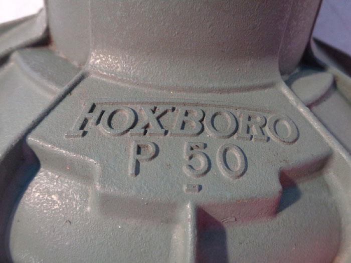 """FOXBORO P-50 1/2"""" AIR POSITIONER CONTROL VALVE V4A"""