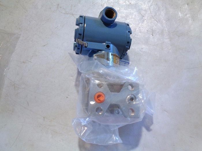 ROSEMOUNT PRESSURE TRANSMITTER 3051CG4A02A1AKDH2B9P2DF