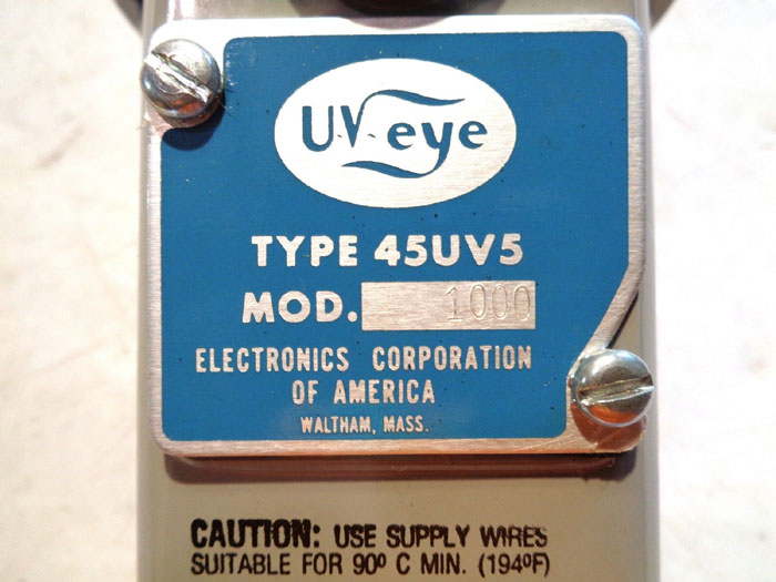 UV EYE 45UV5 SCANNER SELF-CHECKING FLAME SENSING DEVICE 1000