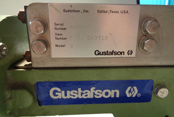 GUSTAFSON SOLIDS SAMPLER MODEL B W/ DAYTON SPLIT PHASE GEAR MOTOR 6K325A