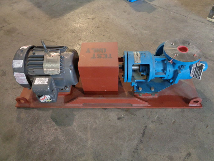 TUTHILL PUMP GG015S W/ BALDOR SUPER E MOTOR ECP39821-4