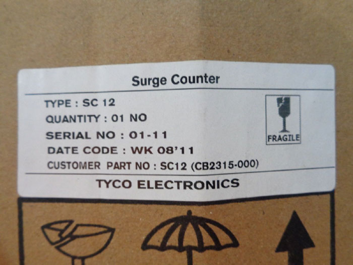 BOWTHORPE EMP SURGE COUNTER SC12
