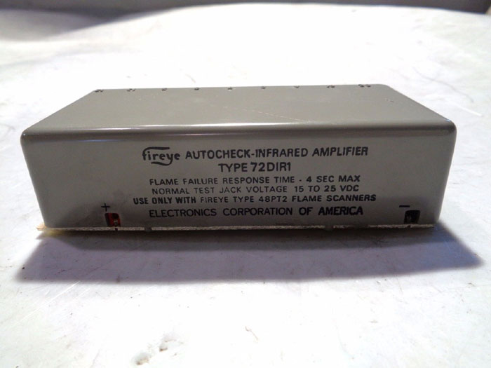FIREYE AUTOCHECK INFRARED AMPLIFIER 72DIR1