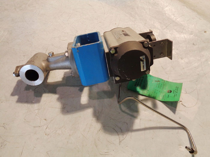 "VETEC 1"" 150# ACTUATED VALVE 72.4AT W/ AIR TORQUE SC 100-4 FS"