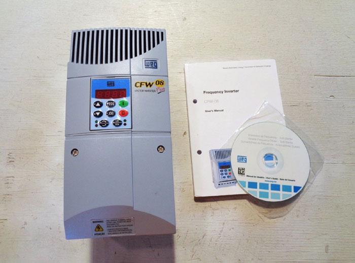 WEG CFW-08 PLUS VECTOR INVERTER USCFW080065T3848EON1A1Z