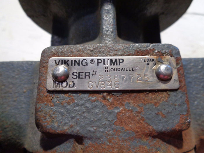 VIKING PUMP GV846