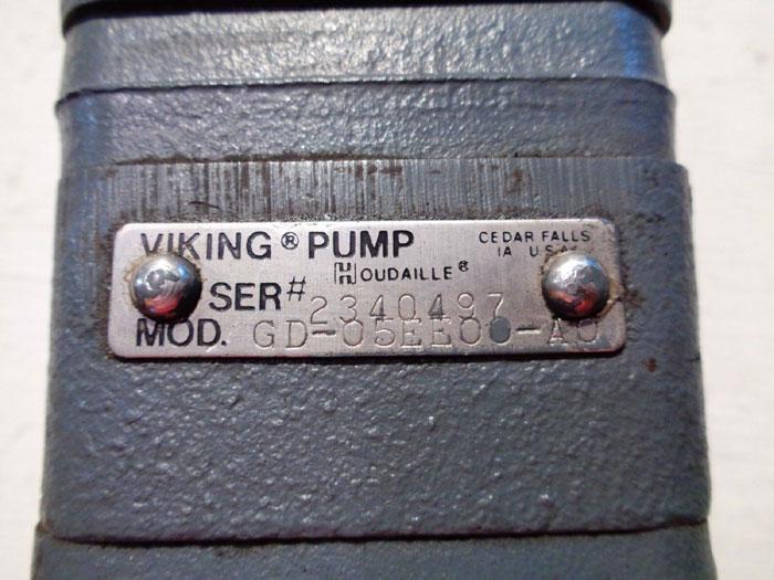 VIKING PUMP FLOW DIVIDER GD-05EE00-A0 -OR- GD-05EE00-GO